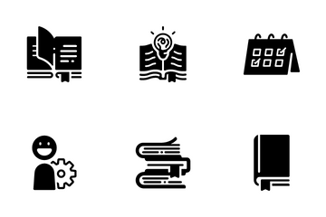 Library Process Icon Pack