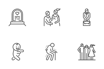 Life Cycle Icon Pack