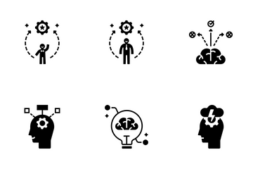 Life Skill Solid - Self Improvement Icon Pack