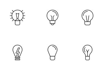 Light-bulb Icon Pack