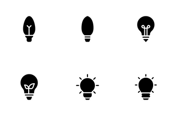 Light Bulb Icon Pack