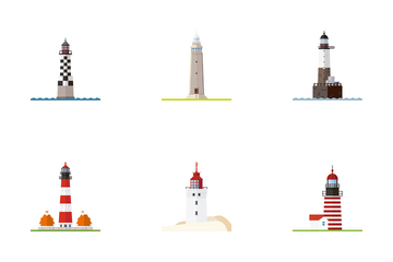 Lighthouses Icon Pack