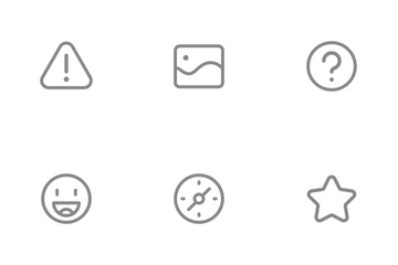 Line Full Package Icon Pack