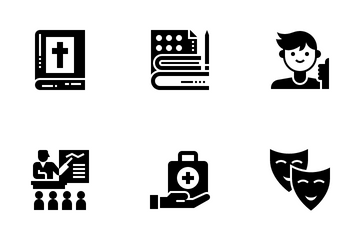 Literary Genres Icon Pack