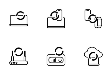Load Network Icon Pack