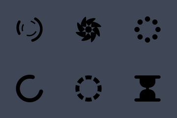 Loading-spinners Icon Pack