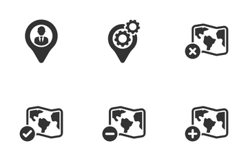 Location Icon Pack