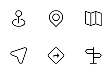 Location And Map Icon Pack