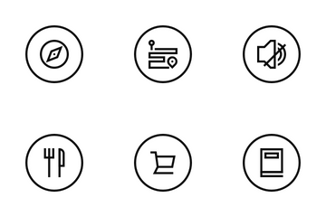 Location And Navigation Icon Pack
