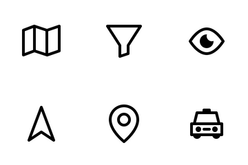 Location Themed Icon Pack
