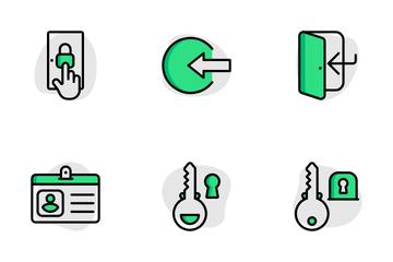 Login Set Icon Pack