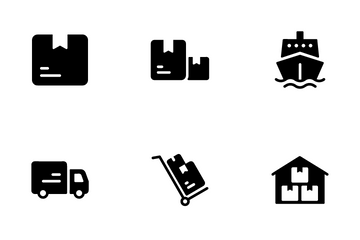 Logistic Icon Pack
