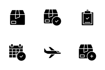 Logistic And Delivery Icon Pack