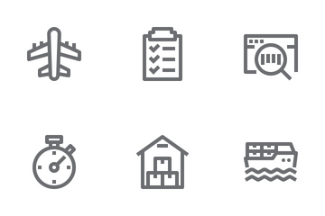Logistic & Delivery Icon Pack