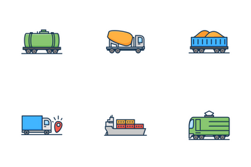 Logistics Icon Pack