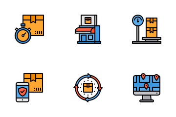 Logistics Icon Pack