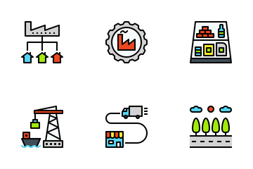 Logistics Color Icon Pack
