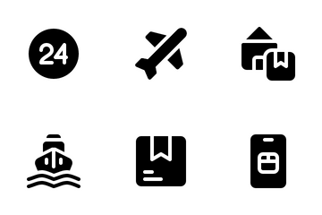 Logistics Delivery Icon Pack
