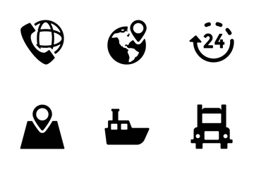 Logistics Delivery Vector Icons Icon Pack
