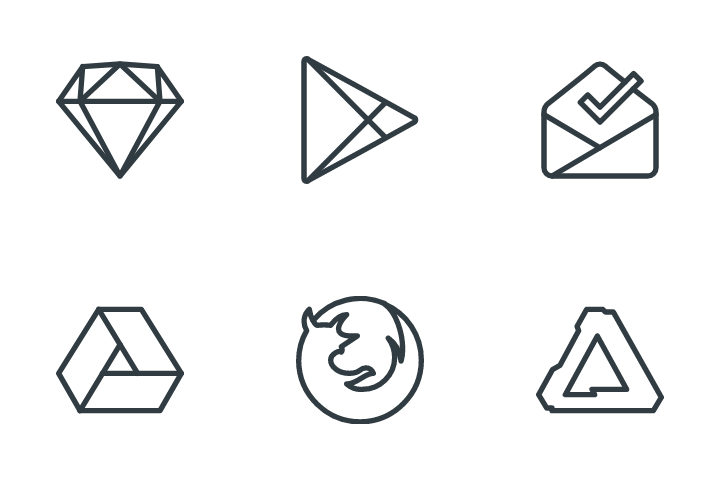 Logos & Brands Icon Pack