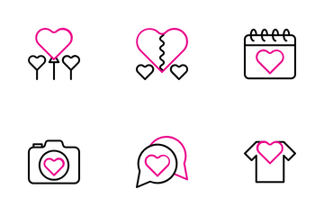 Love And Romance Icon Pack