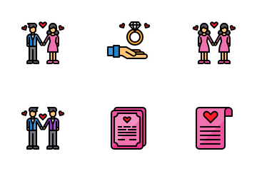 Love And Valentine Icon Pack