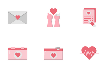 Love And Valentine's Day Icon Pack