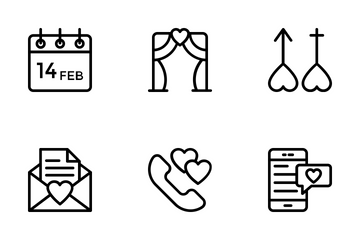Love And Wedding 4 Icon Pack