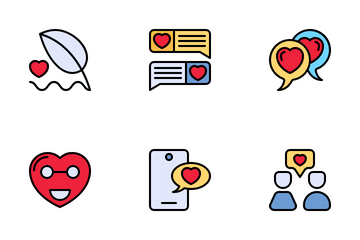 Love Communications Icon Pack