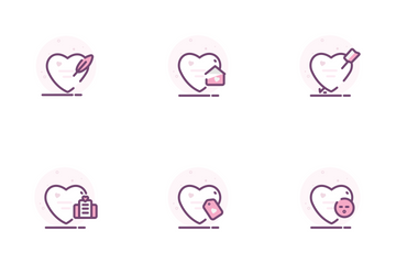 Love In The Air Icon Pack