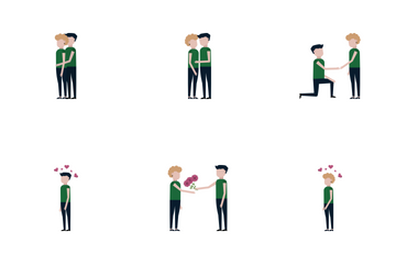 Love Relationship Icon Pack