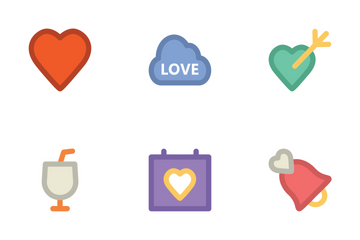 Love & Romance 1 Icon Pack