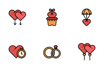 Love & Romance Icon Pack