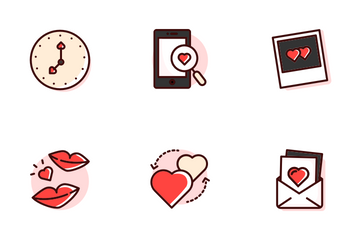 Love Story Icon Pack