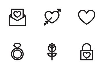 Love&wedding  Icon Pack