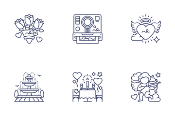Love & Wedding Vol.1 Icon Pack