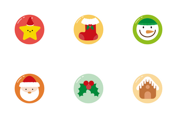 Lovely Christmas Icon Pack