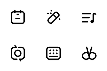Lovely Line Icon Package Icon Pack
