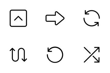 Lucid - Arrows And Directions Icon Pack