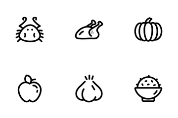 Lucid - Food Icons Icon Pack