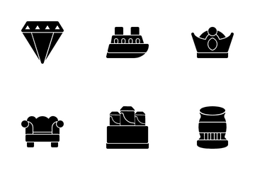Luxury Shop Icon Pack