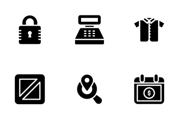 M Commerce, E Commerce And Shopping Icon Pack