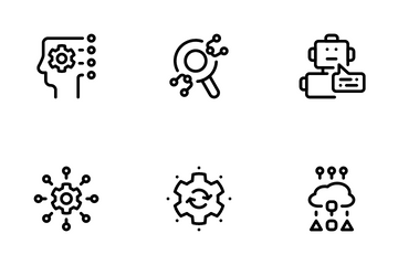Machine Learning Icon Pack