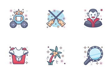 Magic And Fairy Tales Icon Pack