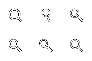 Magnifier Icon Pack