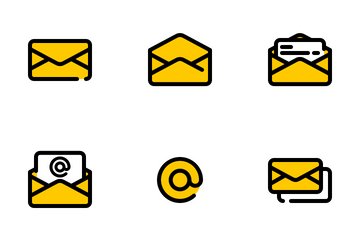 Mail And Contact Icon Pack