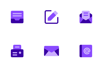 Mail Messages Icon Pack