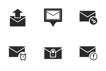 Mail Operation  Icon Pack
