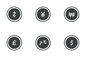 Major Currencies Icon Pack