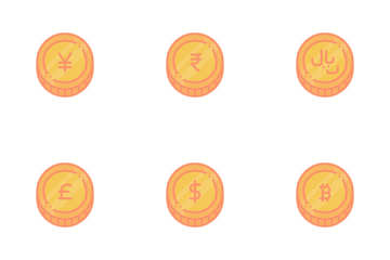 Major Currency Coins Icon Pack